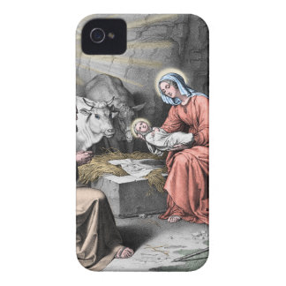 The birth of Christ iPhone 4 Cover