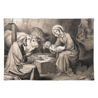 The birth of Christ Placemat