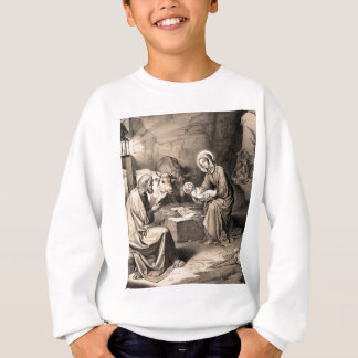 The birth of Christ Sweatshirt