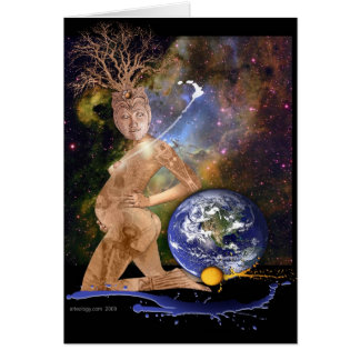 the birth of earth card