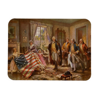 The Birth of Old Glory Magnet