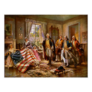 """""""The Birth Of Old Glory"""" Poster"""
