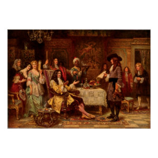 The Birth of Pennsylvania Jean Leon Gerome Ferris Poster