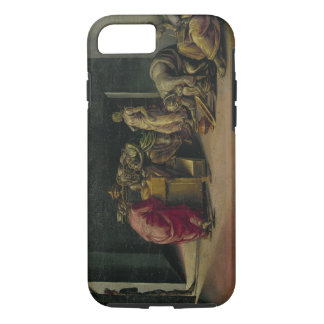 The Birth of St. John the Baptist (oil on panel) iPhone 7 Case