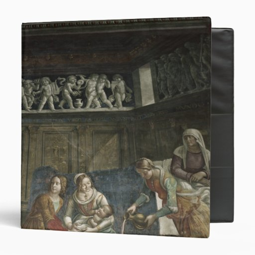 The Birth of the Virgin, 1485-90 Binder