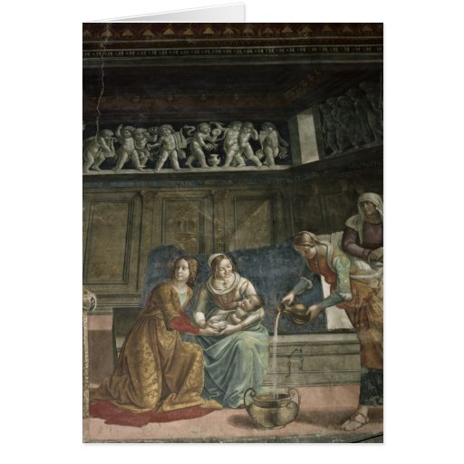 The Birth of the Virgin, 1485-90 Cards