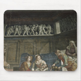 The Birth of the Virgin, 1485-90 Mousepads