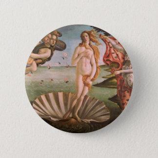 The Birth of Venus 2 Inch Round Button