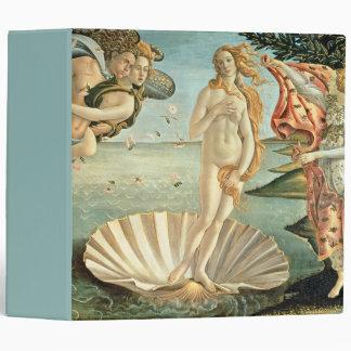 The Birth of Venus, c.1485 (tempera on canvas) Vinyl Binder