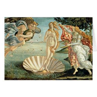 The Birth of Venus, c.1485 (tempera on canvas) Greeting Card