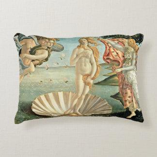 The Birth of Venus, c.1485 (tempera on canvas) Accent Pillow