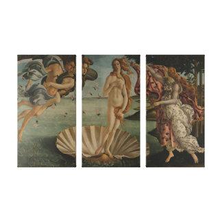 The Birth of Venus Canvas Print
