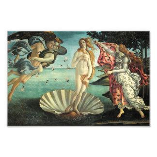 The Birth of Venus - Classic Art by Botticelli Photo Print