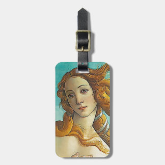 The Birth of Venus - Close up Luggage Tag