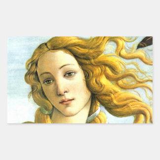 The Birth of Venus - detail Sticker