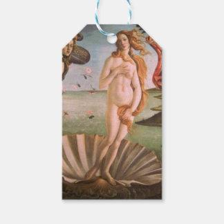 The Birth of Venus - It labels
