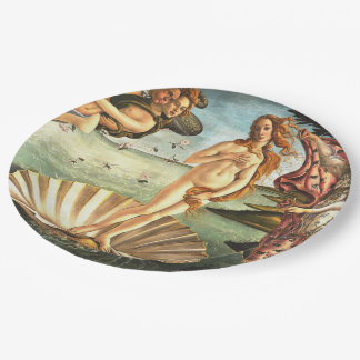 The Birth Of Venus Paper Plate