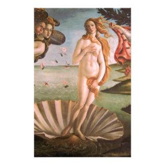 The Birth of Venus Stationery