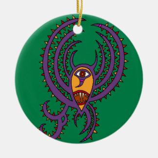The Birthday Bat Ceramic Ornament