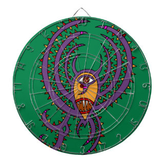 The Birthday Bat Dartboard