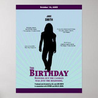 The Birthday Movie Poster (Girl)