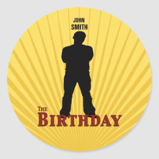 The Birthday Movie Sticker (Boy)
