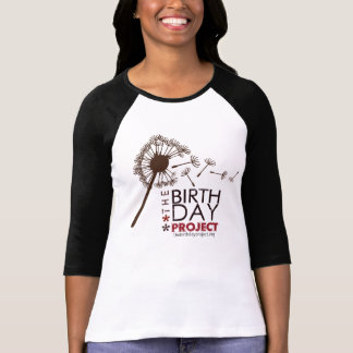 The Birthday Project Big Dandelion Baseball Tee