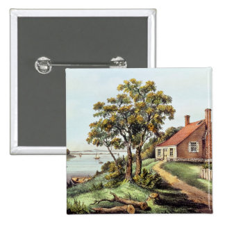 The Birthplace of Washington at Bridges Creek 2 Inch Square Button