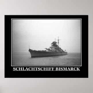 The Bismarck Vintage Poster Print