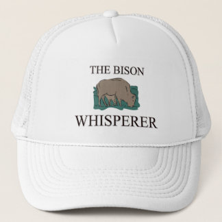 The Bison Whisperer Trucker Hat