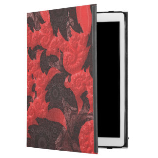"""The Black and Red Spiral Kiss of a Scorpion iPad Pro 12.9"""" Case"""