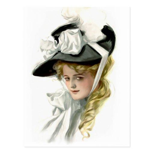 The Black Bonnet Postcard