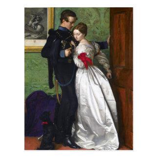 The Black Brunswicker by John Everett Millais Postcard