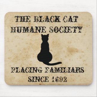 The Black Cat Humane Society Mouse Pad