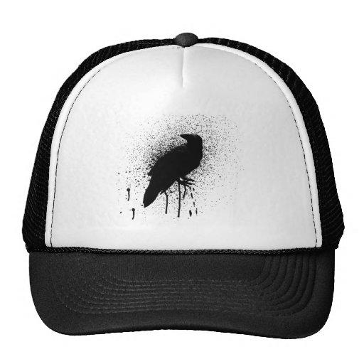 The black crow mesh hat