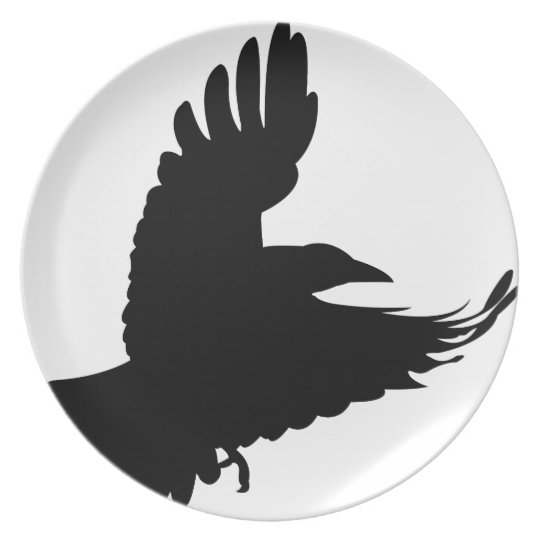 The Black Crow Plate