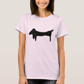 The Black Dachshund T-Shirt