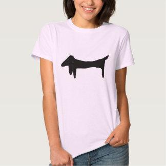 The Black Dachshund Tshirt