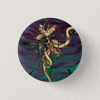 The Black Goat 1 Inch Round Button