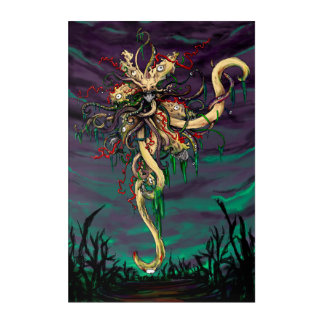 The Black Goat Poster Acrylic Print