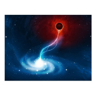 The Black Hole Postcard