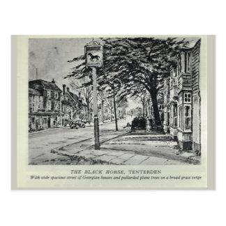The Black Horse Inn, Tenterden Postcard