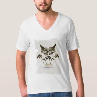 The Black Kitten vNeck T-Shirt