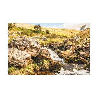 The Black Mountains Canvas Print