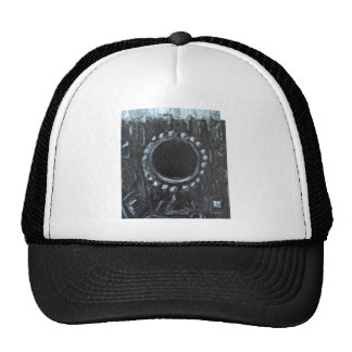 The Black Nest (surreal abstract nature ) Trucker Hat