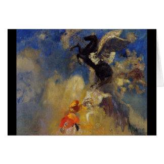 The Black Pegasus Greeting Card