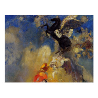 The Black Pegasus Postcard