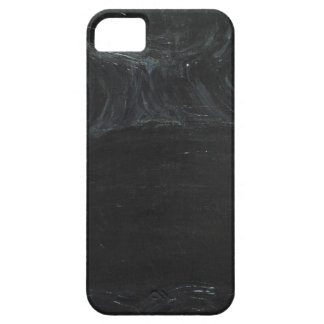 The Black Pond (black minimalism) iPhone 5 Case