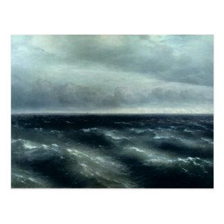 The Black Sea, 1881 Postcard