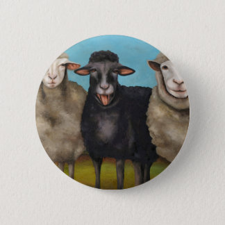 The Black Sheep 2 Inch Round Button